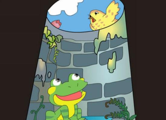 井里的青蛙