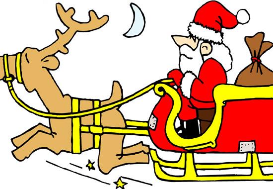 欢迎圣诞老人